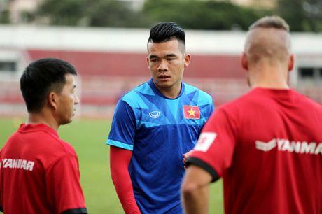 Tuyen Viet Nam tap kin truoc khi len duong di Indonesia da ban ket - Anh 12
