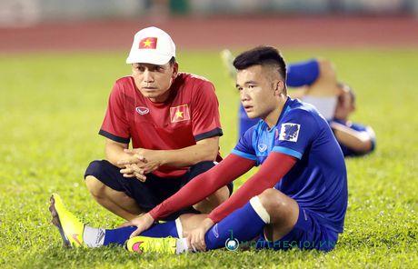Cap nhat tinh hinh nhan su DTVN: Hoang Thinh, Cong Phuong bi dau - Anh 1
