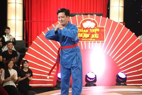"""Muoi Kho"" Truong Giang hoa vo su de dau voi Tran Thanh - Anh 1"
