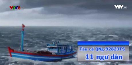 6 tau ca dang tiep can cuu 11 ngu dan Quang Ngai - Anh 1