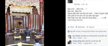 Su that hinh anh chang trai ngoi tao dang tren ngai vang trieu Nguyen - Anh 1