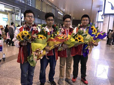 Viet Nam gianh duoc 20 huy chuong Vang thi Toan quoc te Seoul - Anh 1