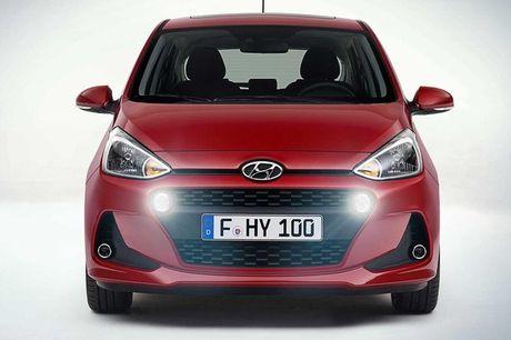 Hyundai Grand i10 sedan phien ban nang cap sap sua trinh lang - Anh 2