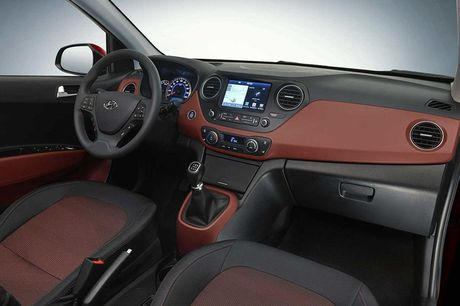 Hyundai Grand i10 sedan phien ban nang cap sap sua trinh lang - Anh 3