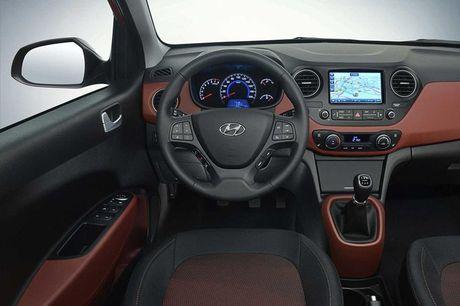 Hyundai Grand i10 sedan phien ban nang cap sap sua trinh lang - Anh 4