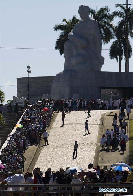 Nguoi Cuba xep hang dai vieng lanh tu Fidel Castro - Anh 2