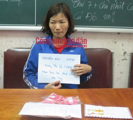 Cap tinh nhan 'nghien' buon chuyen heroin tu Nghe An len Thai Nguyen - Anh 3