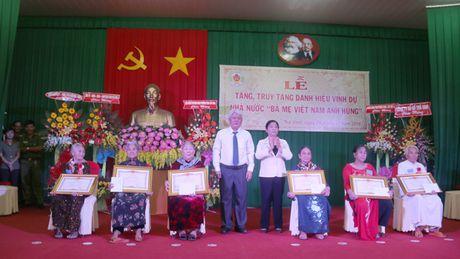Phong, truy tang danh hieu cho 111 Ba me Viet Nam anh hung - Anh 2
