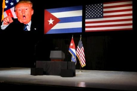 """Tan tong thong Trump """"doa nat"""" Cuba - Anh 1"""