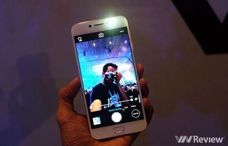 Vivo V5 ra mat: Camera selfie 20MP, gia 6 trieu dong - Anh 6