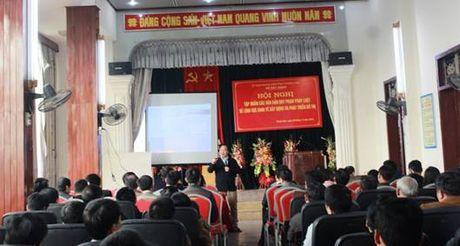 Thanh Hoa: Tap huan van ban moi ve kinh te xay dung va phat trien do thi - Anh 2
