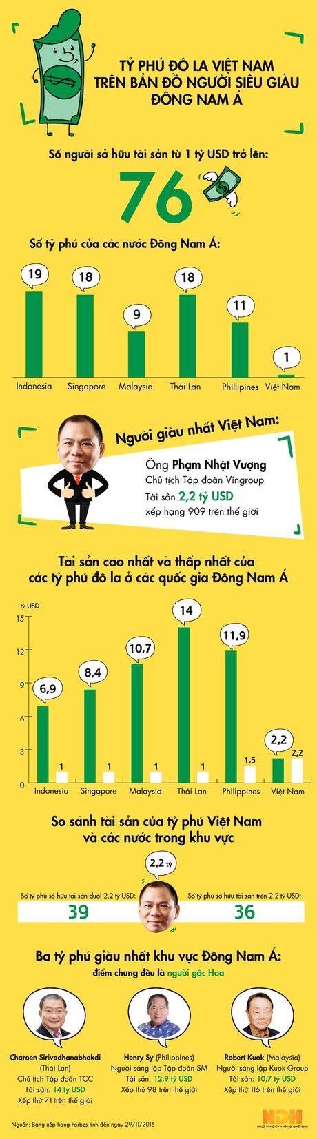 Ty phu do la Viet Nam tren ban do nguoi sieu giau Dong Nam A - Anh 1