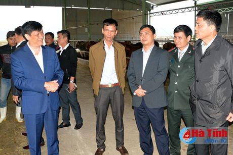 Thu truong Bo Y te kiem tra dam bao an toan thuc pham tai Ha Tinh - Anh 3