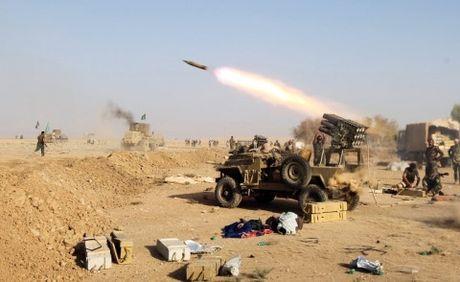 Quan doi Iraq khong de IS cam cu lau o Mosul - Anh 1