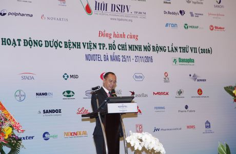 Vistar Pharmacy tham du hoi nghi Hoi Duoc si benh vien TP.HCM tai Da Nang - Anh 2