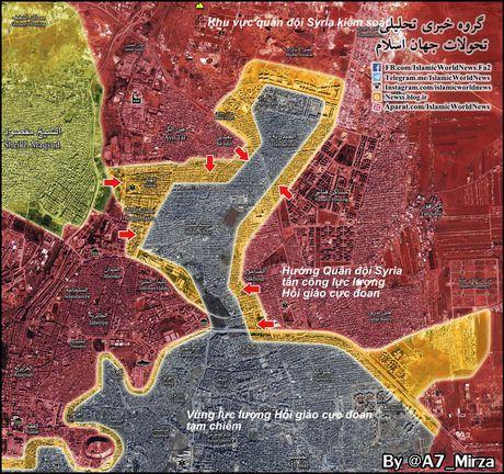 Tran Stalingrad Syria: Quan doi Syria tan cong don dap, giai phong 40% dong Aleppo - Anh 2