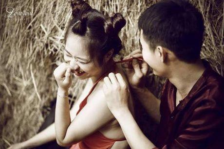 Phat sot voi bo anh cuoi Chi Pheo – Thi No cua cap doi xu Nghe - Anh 3