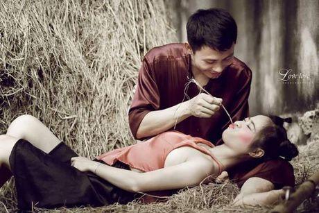 Phat sot voi bo anh cuoi Chi Pheo – Thi No cua cap doi xu Nghe - Anh 5