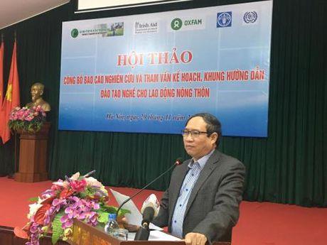 Danh 1.750 ty dong dao tao nghe nong nghiep giai doan 2017-2020 - Anh 1