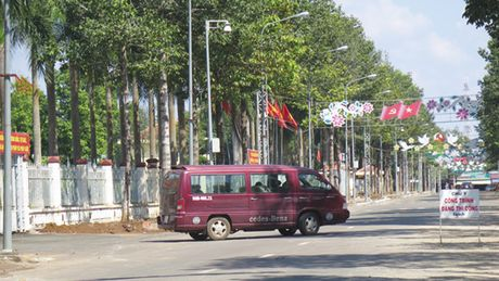 Binh Phuoc: Phu nhan thi cong truoc dau thau sau - Anh 1