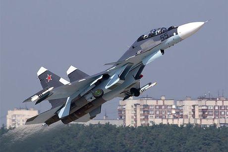 Khong quan hai quan Nga trang bi them hang loat phi co Su-30SM - Anh 1