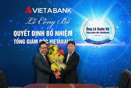 VietA Bank bo nhiem Tong giam doc Le Xuan Vu - Anh 1