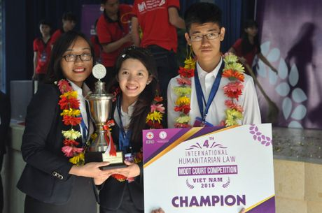 Sinh vien HV Ngoai giao VN se tham du Phien toa gia dinh chau A-TBD 2017 - Anh 1