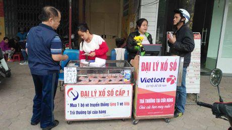 Xo so Vietlott 'xach tay' ngap tran Ha Noi - Anh 1