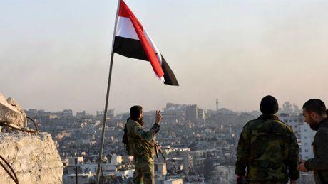 Quan doi Syria da giai phong mien dong Aleppo - Anh 1