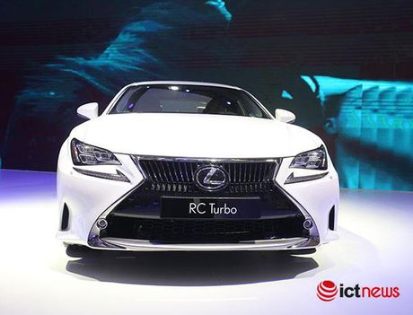 Coupe Lexus RC Turbo 2017 chot gia gan 3 ty dong tai Viet Nam - Anh 1