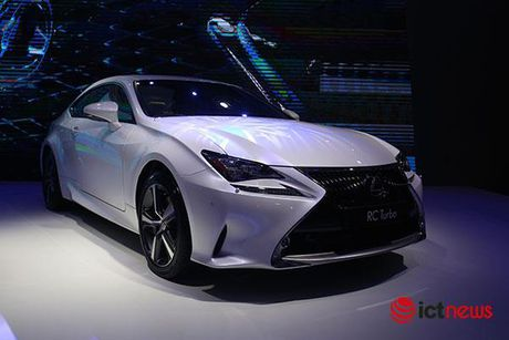 Coupe Lexus RC Turbo 2017 chot gia gan 3 ty dong tai Viet Nam - Anh 3