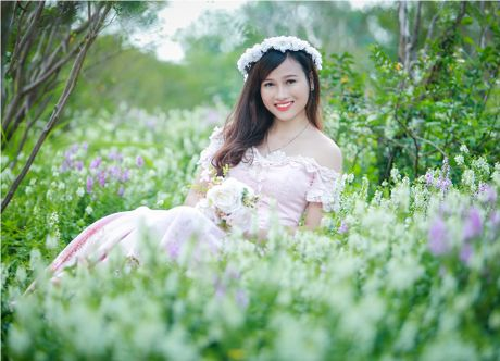 Hoa hau My Linh,nghe si Xuan Bac cham thi SV thanh lich - Anh 2