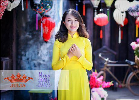 Hoa hau My Linh,nghe si Xuan Bac cham thi SV thanh lich - Anh 3