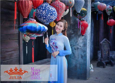 Hoa hau My Linh,nghe si Xuan Bac cham thi SV thanh lich - Anh 4