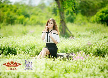 Hoa hau My Linh,nghe si Xuan Bac cham thi SV thanh lich - Anh 5