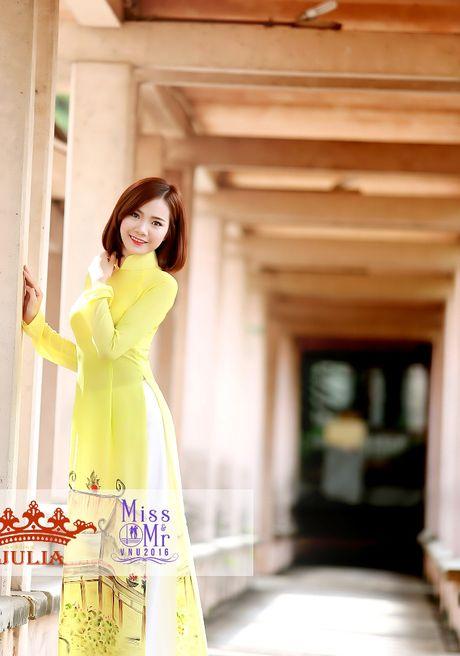 Hoa hau My Linh,nghe si Xuan Bac cham thi SV thanh lich - Anh 6