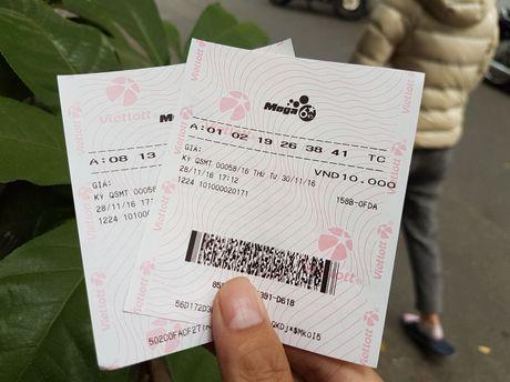 Ve so Mega 6/45 xuat hien o Ha Noi, ban gia 12.000 dong - Anh 2