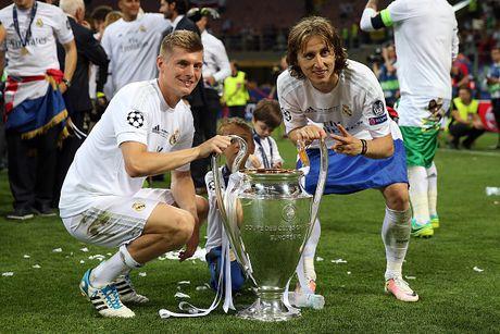 Kroos danh gia Bale va Modric cao hon CR7 - Anh 1