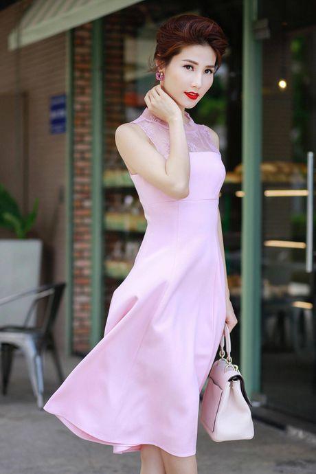 Loat fashionista Viet chuong sac hong trong street style - Anh 1