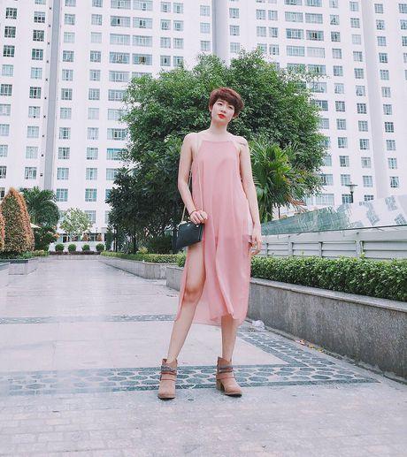Loat fashionista Viet chuong sac hong trong street style - Anh 3