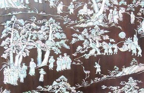 Buc tranh dac biet Hoi Lich su tang Chu tich nuoc Tran Dai Quang - Anh 1