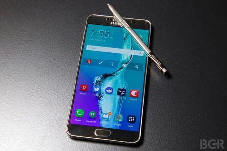 Samsung dang bat dau bien Note 5 thanh Note 7? - Anh 1