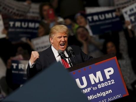 Ong Trump co them 16 phieu dai cu tri o Michigan - Anh 1
