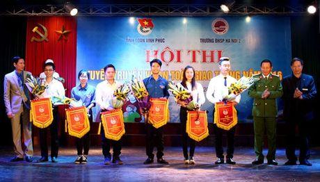 Vinh Phuc: To chuc Hoi thi tuyen truyen ATGT nam 2016 - Anh 1