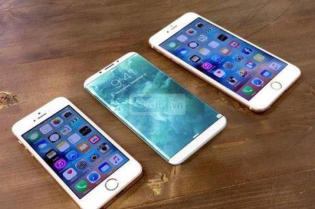 Apple dang thu nghiem man hinh cong dau tien cho iPhone 8 - Anh 1