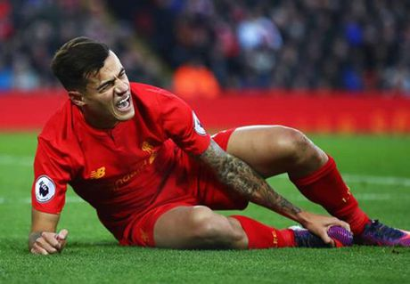 The thao 24h: Liverpool mat Coutinho 6 tuan - Anh 1
