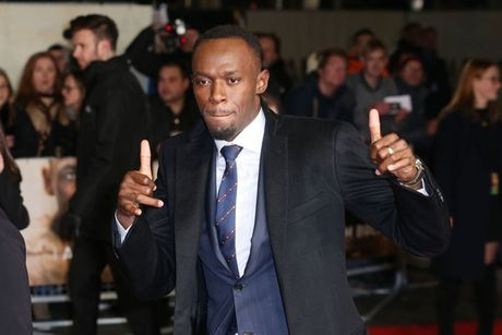 Dan sao Premier League no nuc du le ra mat phim cua Usain Bolt - Anh 1