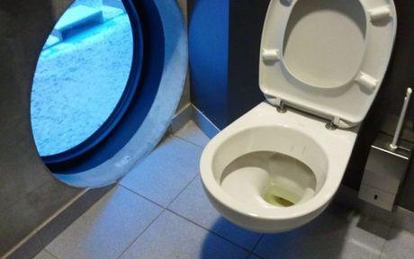 Cam giac manh voi nhung toilet hien dai co goc nhin cuc thoang dang - Anh 2
