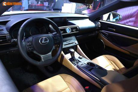 Lexus Viet Nam 'chot gia' xe sang RC Turbo 2,98 ty dong - Anh 5