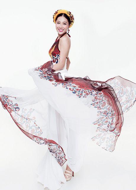 Ngam trang phuc truyen thong cua Dieu Ngoc tai Miss World 2016 - Anh 2